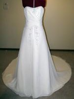 Ivory Peter Trends gown Size 8