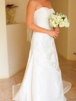 Strapless Wedding dress by Peter Trends