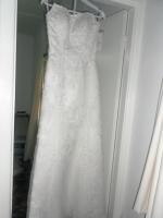 New Never Been Worn 'Bardot' by Barbra Calabro Wedding Gown