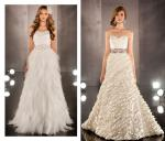 Two Stunning Strapless Gowns by Martina Liana