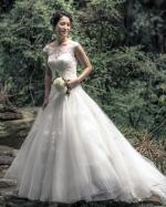 Elegant Princess Wedding Dress by Fara Sposa