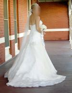 Stunning Strapless Wedding Gown by Martina Liana 411