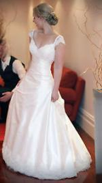 Wendy Makin 'Laura' wedding dress size 8