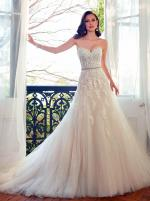 BRAND NEW SOPHIA TOLLI 2015 COLLECTION PRINIA SIZE 12 STRAPLESS WEDDING DRESS