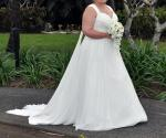 Gorgeous Peter Trends Bridal Wedding Gown