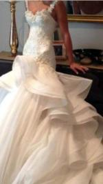 Breathtaking Wedding Gown by Nicky Velani
