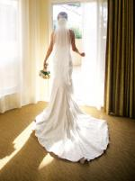 Breathtaking strapless Mariana Hardwick 'Callie' Wedding Gown
