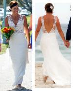 Corston Couture Bohemian Rose Wedding Dress
