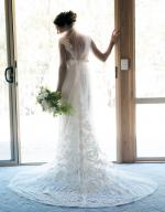 Anna Campbell Vintage Ivory Lace Wedding Gown