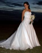 Stunning White Wedding Dress by Angeline