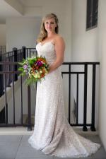 Strapless Satin Lined Lace Dream Wedding Dress