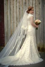 Gorgeous Vintage Lace Bridal Gown by Bridal Chic