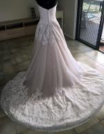 Beautiful Brand New Madeline Gardener (Mori Lee collection 2674) Strapless ballgown