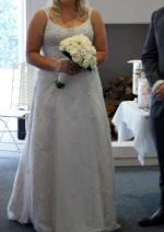 A-Line Size 16 Wedding Dress