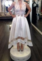 Gorgeous Hi Low Gown by Aida
