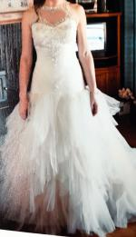 Romantic Princess Wedding Dress by Raffaele Ciuca